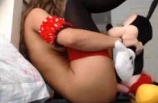 Geile sexy Minny Mouse geneukt door mickey