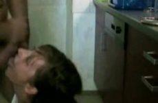 In de keuken moet je geil neuken