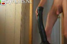 Gay man neemt paarden pik anaal